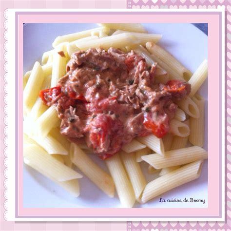 p 226 tes sauce au thon et aux tomates cerise ww la cuisine de boomy