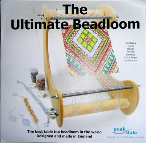 how to make a bead weaving loom craft product review ultimate bead loom by peak dale
