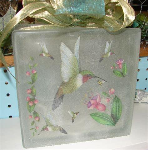 glass block craft projects glass block crafts glass block lights glass block
