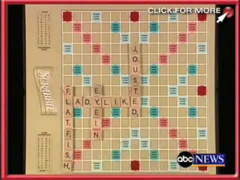 scrabble record record setting scrabble