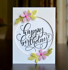 to make birthday cards best 25 easy birthday cards ideas on bday