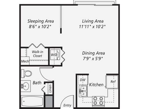 1 bedroom garage apartment floor plans 287 best images about small space floor plans on