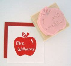 personalized rubber sts for teachers 1000 images about back to school ideas on