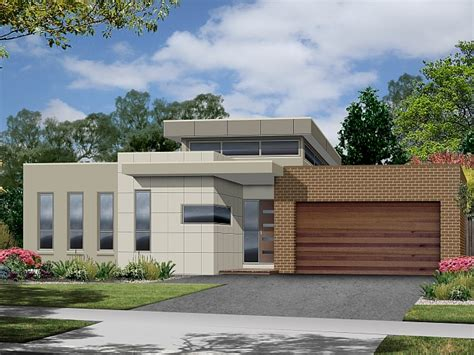 modern home designs plans modern contemporary single story house plans home deco plans