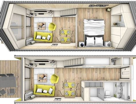 tiny houses on wheels floor plans though not originally created as a home on wheels this