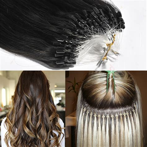 beaded extensions micro links micro bead hair extensions china micro links