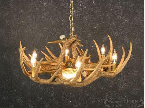 whitetail deer antler chandelier whitetail deer 9 antler chandelier cast horn designs