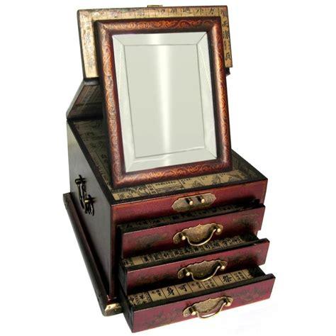 boite 224 bijoux avec miroir biseaut 233 promodiscountmeubles magasin en ligne de meubles chinois