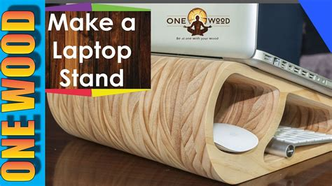 Woodworking Project Make A Wooden Laptop Stand And Learn