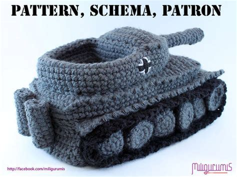 knitted tank slippers pattern for crocheted panzer tank slippers boing boing