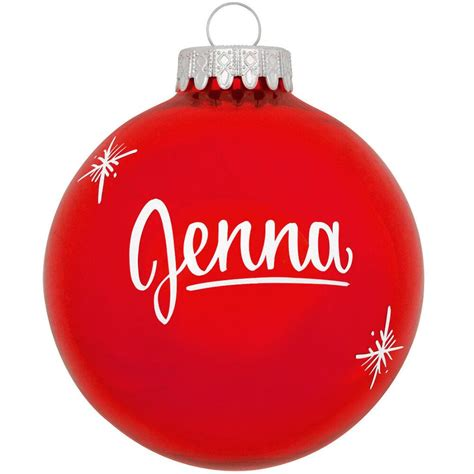 customized ornament personalized ornament plain design bronner s