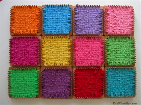 craft loops projects craftsanity weaving looms craftsanity a and