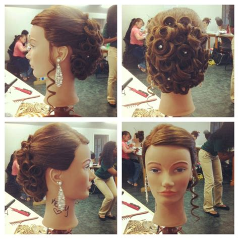 my mannequin s hair for the contest hairstyles