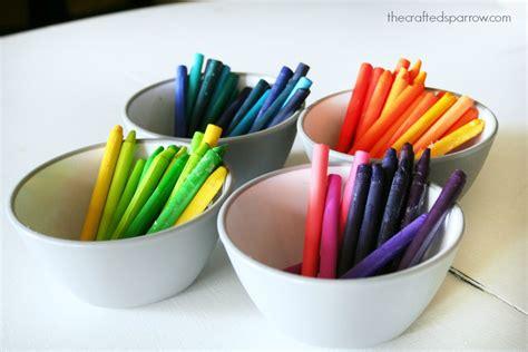 wax paper crayon craft wax paper crayon