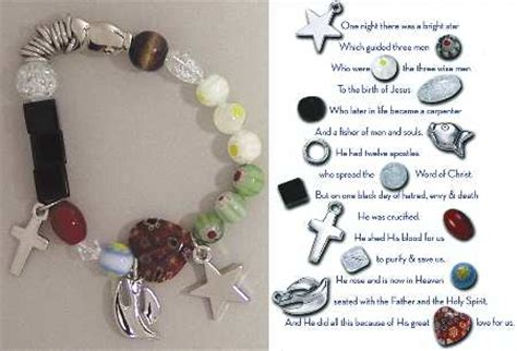 story of jesus bracelet what do the beaded story bracelets at replacements ltd