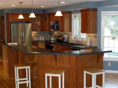 g shaped kitchen design 6 great kitchen floor plan design ideas