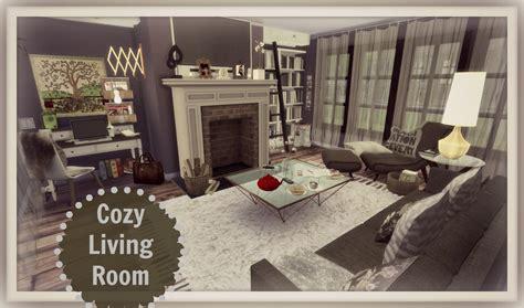 s living room sims 4 cozy living room dinha