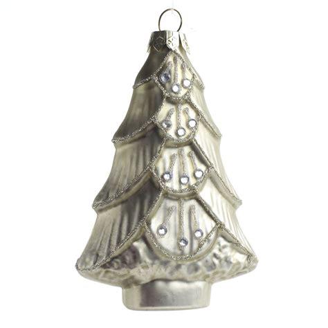 tree glass ornaments ornament glass tree with ornaments miniature
