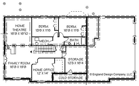 ranch house floor plans with basement awesome home plans with basements 14 ranch house floor
