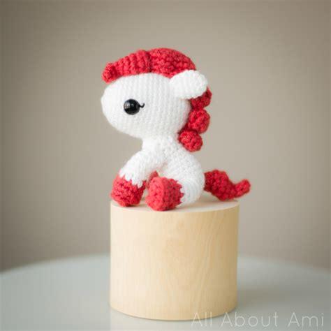 pony patterns amigurumi pony pattern stitch and unwind