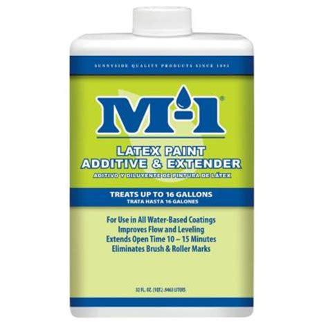 home depot paint brush extender m 1 1 qt paint additive and extender 70332m the