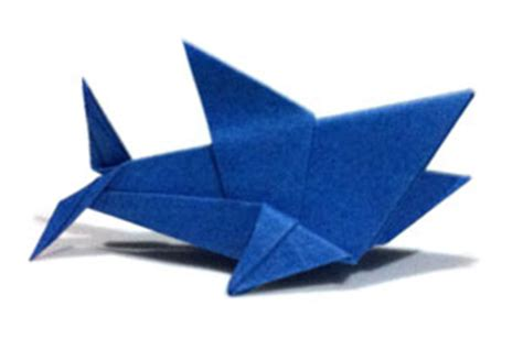 origami sharks papersharksorg paper sharks make a wish for shark