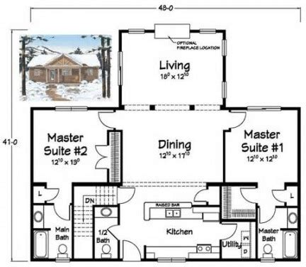 two master bedroom house plans show home design inside 2 bedroom house plans with 2 master