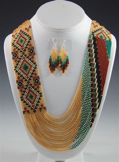 indian beaded jewelry navajo beaded necklace navajo necklace rena charles