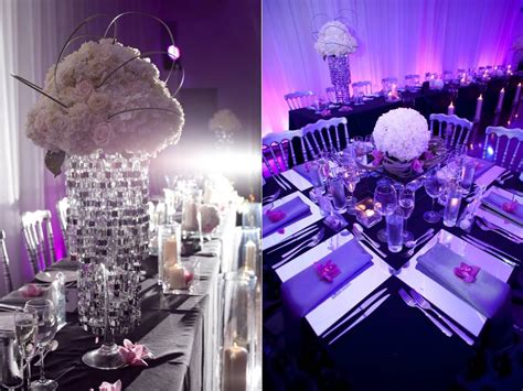purple wedding table decoration ideas