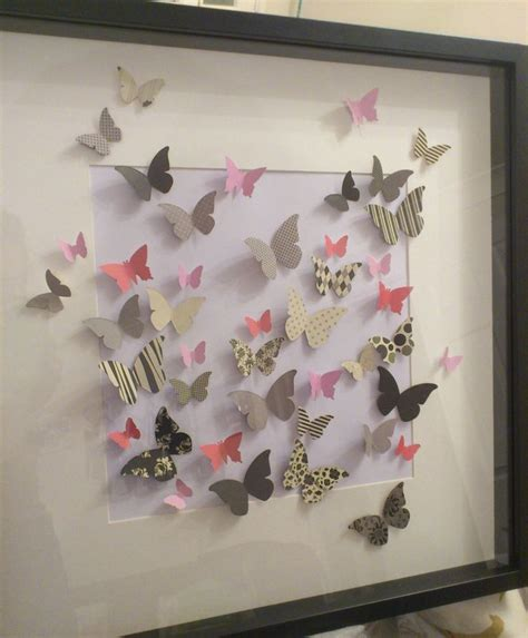paper crafts for wall decor 17 best ideas about 3d wall on 3d paper
