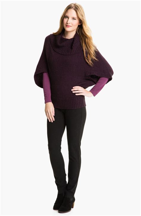 Eileen Fisher Ponte Knit In Gray Charcoal