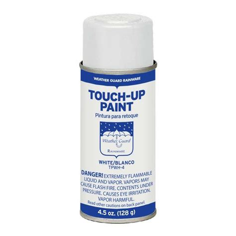 home depot spray paint white gibraltar building products 4 5 oz white touch up spray
