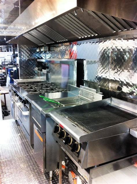 food truck kitchen design truck kitchen is ready frankie fettuccine food truck co