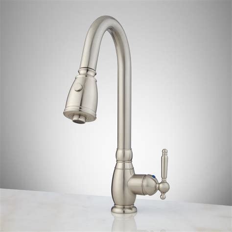 pictures of kitchen faucets caulfield single pull kitchen faucet kitchen