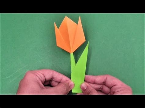 easy crafts to make out of paper how to make simple easy paper tulip flower diy paper