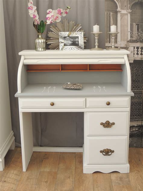 shabby chic desks shabby chic roll top desk eclectivo furniture