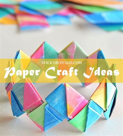 creative craft ideas with paper creative paper craft ideas my