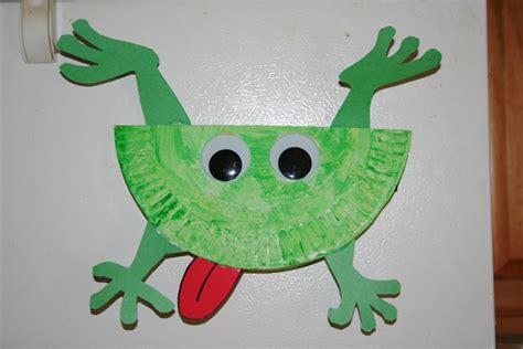 frog craft project frog crafts preschool op voorschoolse
