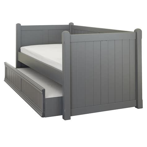 charterhouse daybed with trundle dark grey