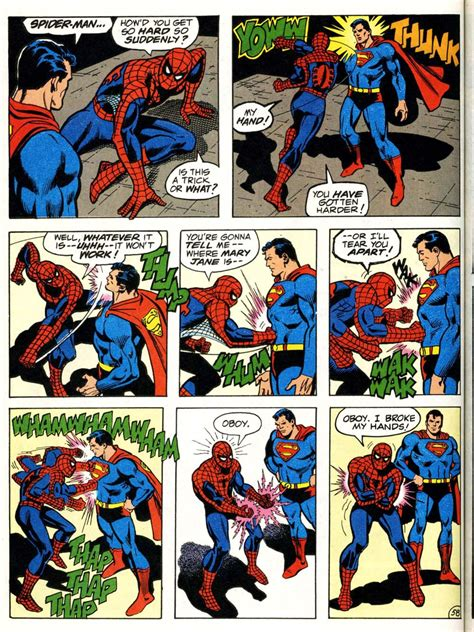 comic vs spider vs superman battles comic vine