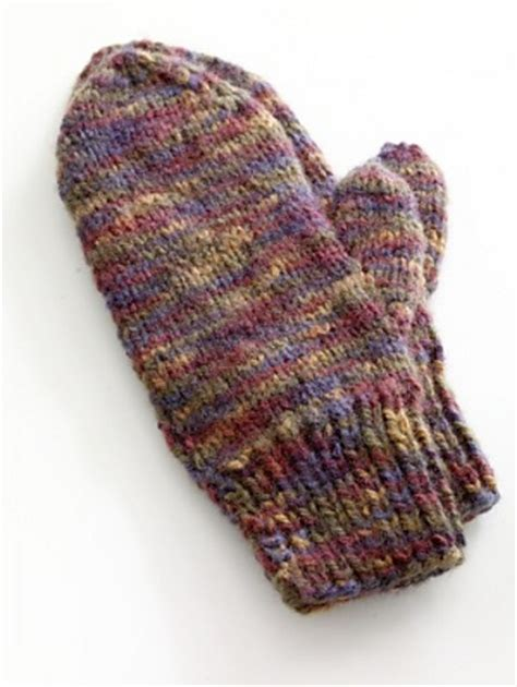 free easy knitting mittens patterns for 2 needles pin by ladd on knitting ideas