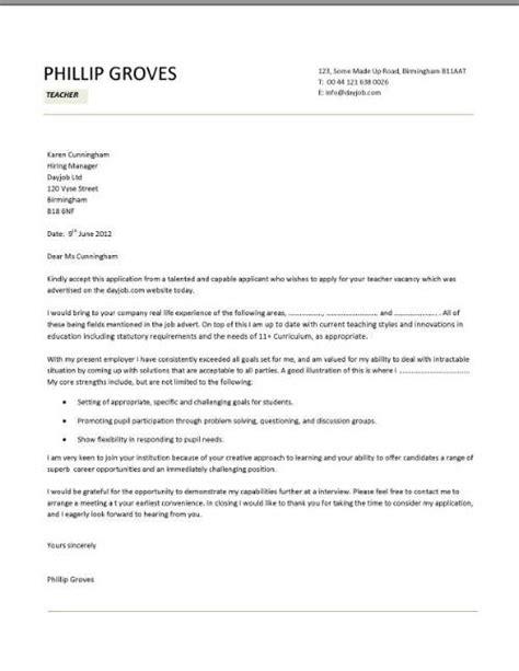 cover letter sample for lecturer job application cover letter for resume example for teacher platinum
