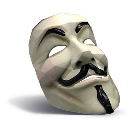 origami fawkes mask fawkes mask from papercraft handmade artcrafts