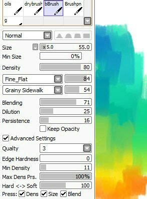 paint tool sai square brush 154 best images about sai brushes on paint