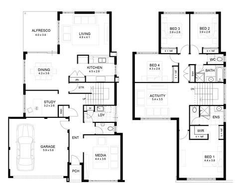 2 floor house plans 2 storey modern house designs and floor plans tips modern house plan modern house plan