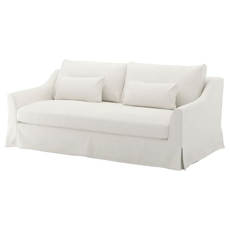 white slipcovered sofa ikea fabric sofas ikea ireland dublin