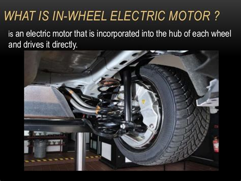 Electric Motor System by In Wheel Hubless Motor System