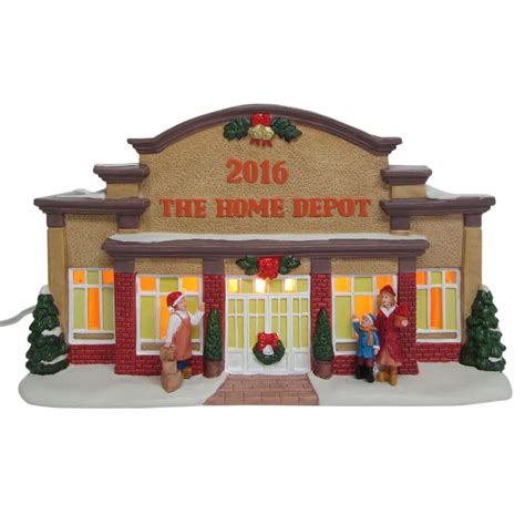 home depot home accents 6 in lit home depot house nm