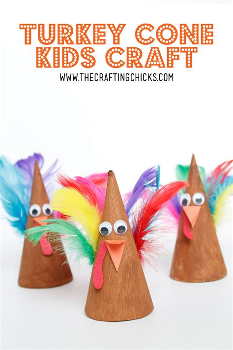 cone crafts for turkey cone craft idea the crafting