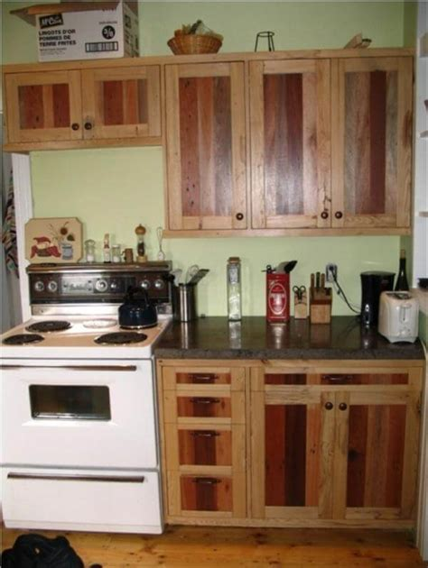 diy kitchen furniture diy pallet kitchen cabinets low budget renovation 99 pallets